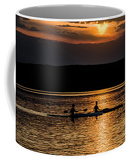 Kayaks In The Sunset Coffee Mug