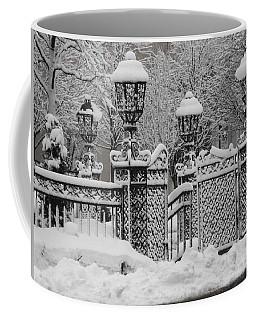 Kc Plaza Is Art In The Snow Coffee Mug