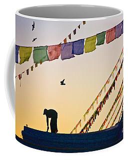 Coffee Mug featuring the photograph Kdu_nepal_d113 by Craig Lovell