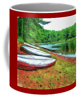 Kearney Lake Beach Coffee Mug