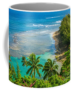 Kee Beach Kauai Coffee Mug