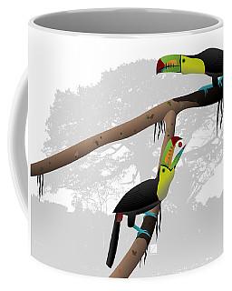 Keel-billed Toucans Coffee Mug