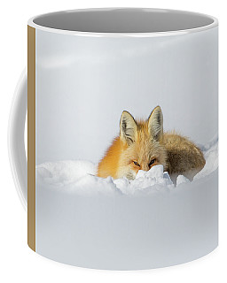 Snow Hide Coffee Mug