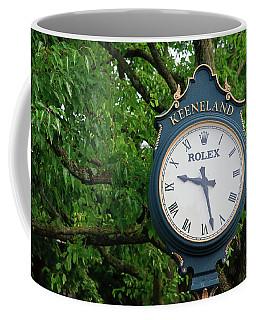Keeneland Clock Coffee Mug