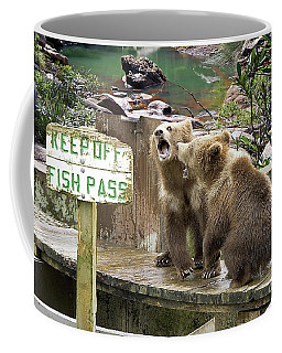 Keep Off Fish Pass  Coffee Mug