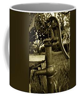 Coffee Mug featuring the photograph Keep On Pumping by Amanda Eberly-Kudamik