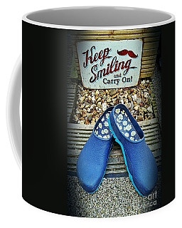 Keep Smiling And Carry On Coffee Mug
