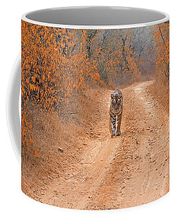 Keep Walking Coffee Mug by Pravine Chester