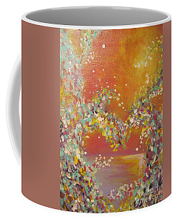 Keep Your Heart Open Coffee Mug