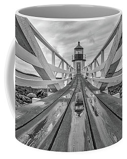Coffee Mug featuring the photograph Keeper's Walkway At Marshall Point by Rick Berk