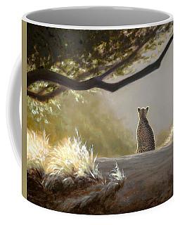 Keeping Watch - Cheetah Coffee Mug