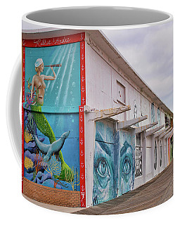 Keeping Watch In Asbury Park Coffee Mug