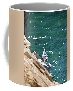 Coffee Mug featuring the photograph Keeping Watch by SimplyCMB