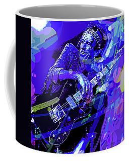 Keith Richards Blue Coffee Mug