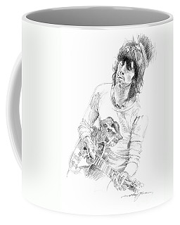Keith Richards Exile Coffee Mug