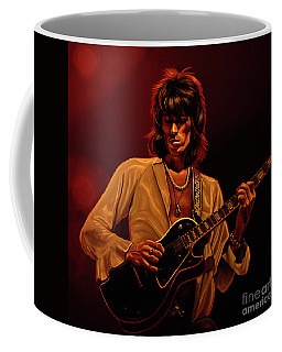Keith Richards Mixed Media Coffee Mug