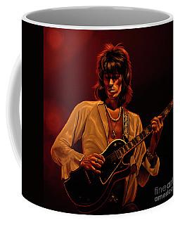 Keith Richards Mixed Media Coffee Mug