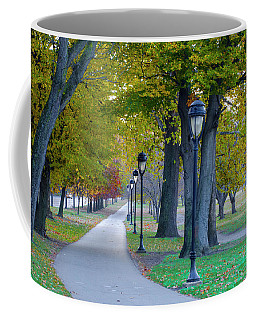 Coffee Mug featuring the photograph Kelly Drive In Autumn by Bill Cannon