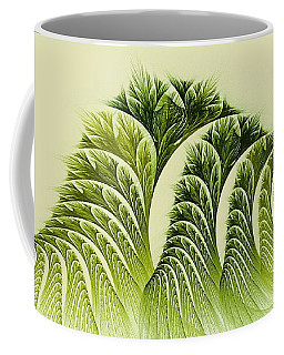 Kelp Towers Of The Fractal Sea Coffee Mug