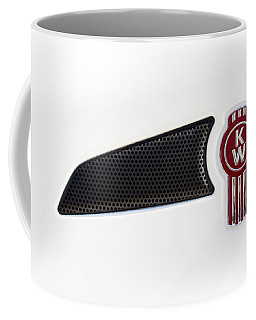 Ken Worth White Tractor 041418 Coffee Mug