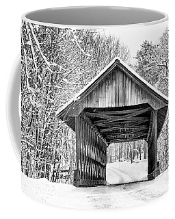 Keniston Covered Bridge  Coffee Mug by Betty Pauwels