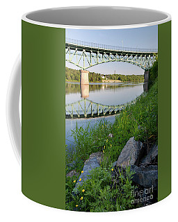 Kennebec River, Augusta, Maine #8347-8349 Coffee Mug