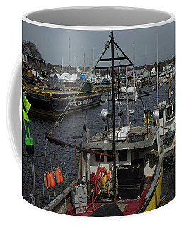 Kennebunkport Harbor In Early Winter Coffee Mug