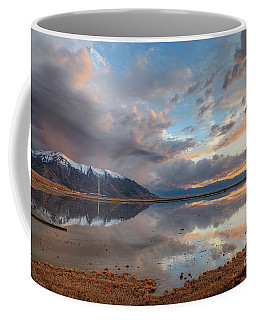 Coffee Mug featuring the photograph Kennecott And The Oquirrhs by Spencer Baugh