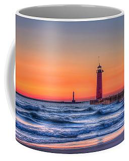 Kenosha Lighthouse Dawn Coffee Mug