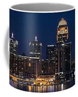 Louisville At Night Coffee Mug