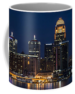 Louisville At Night Coffee Mug