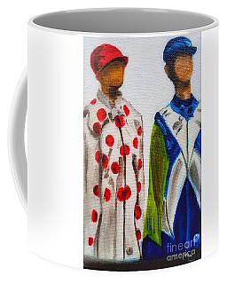 Kentucky Derby Jockey Mannequins Coffee Mug