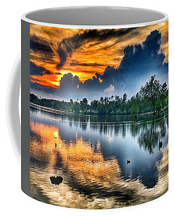 Coffee Mug featuring the photograph Kentucky Sunset June 2016 by Sumoflam Photography