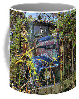 Coffee Mug featuring the photograph Kenworth In The Weeds by Jerry Gammon
