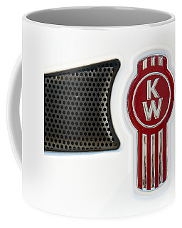 Kenworth Tractor White Coffee Mug