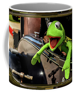 Kermit In Model T Coffee Mug