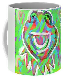 Kermit Coffee Mug by Jason Nicholas