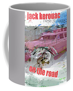 Kerouac Poster  Coffee Mug