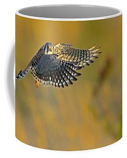 Kestrel Takes Flight Coffee Mug