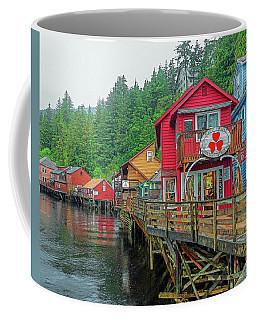 Ketchikan Alaska Creek Street Coffee Mug