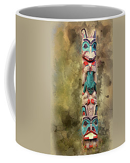 Ketchikan Alaska Totem Pole Coffee Mug