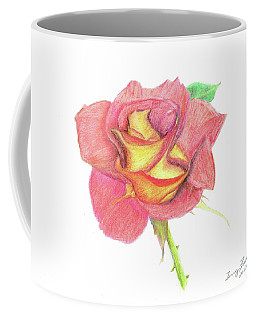 Ketchup And Mustard Rose Coffee Mug