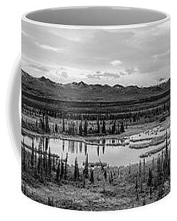 Kettle Pond And The Alaska Range Coffee Mug
