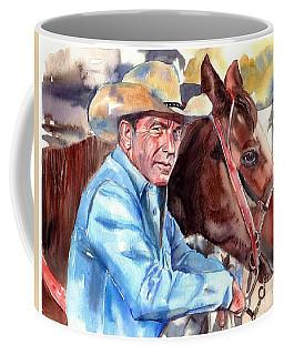 Kevin Costner Portrait Coffee Mug