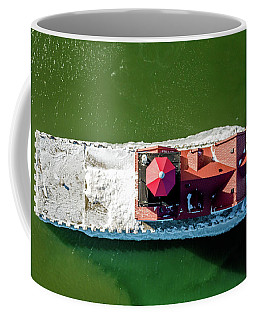 Kewaunee Lighthouse Down View Coffee Mug