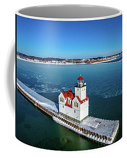Kewaunee Lighthouse Coffee Mug