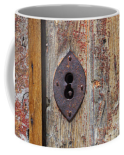 Key Hole Coffee Mug by Carlos Caetano