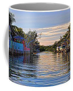 Key Largo Canal Coffee Mug