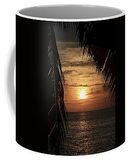 Key West Palm Sunset 2 Coffee Mug