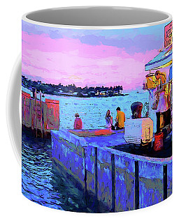 Key West Sunset And Conch Fritters Coffee Mug
